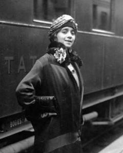 Lillian Evanti (Lillian Evans Tibbs) France in 1926