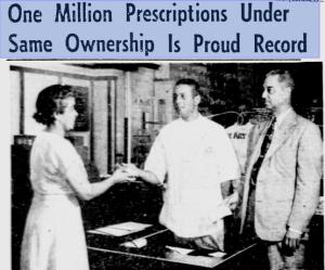 Delilah W. Pierce Inside Ethical Drug Store