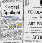 Capital Spotlight By Louis Lautier, The Afro American, December 12, 1936