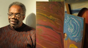 Sam Gilliam, color field painter and lyrical abstractionist